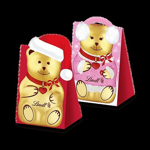 Children Premium Chocolate Christmas Teddy Gifts, 3 x 60g