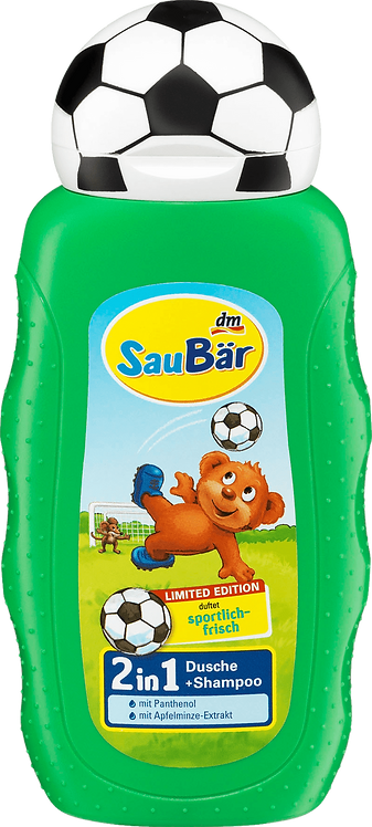 Football Children and Kids shower Gel , 200 ml