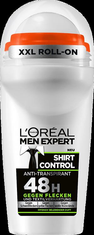 L'ORÉAL Men Expert Deo Roll-On Shirt Control, 50 ml