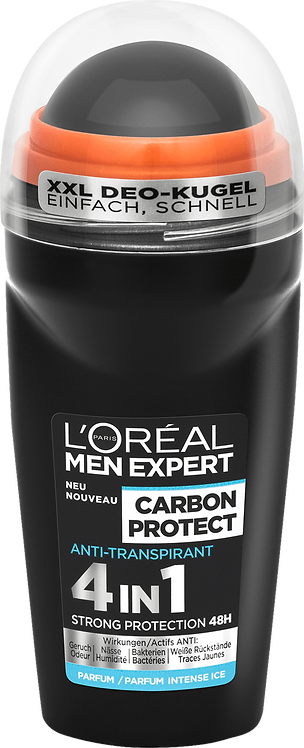 L'ORÉAL Men Expert  Deodorant Roll-on Carbon Protect, 50 ml