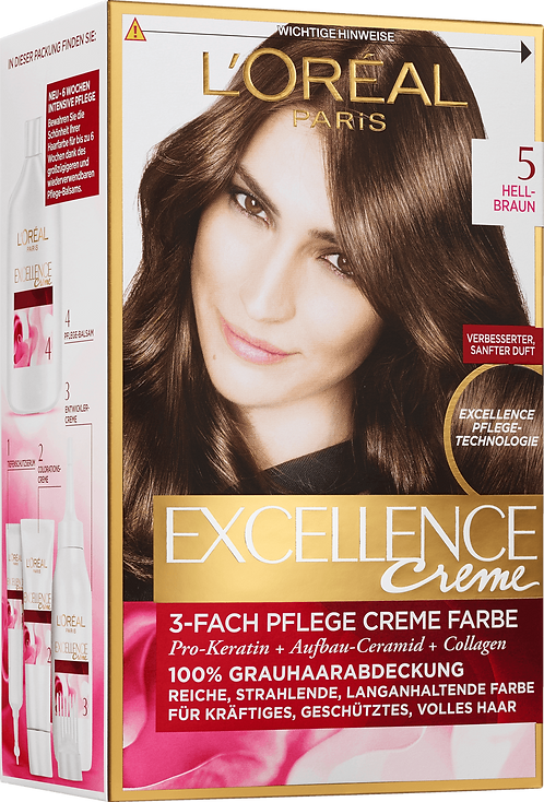 Excellence Coloration Light Brown 5, 1 pc