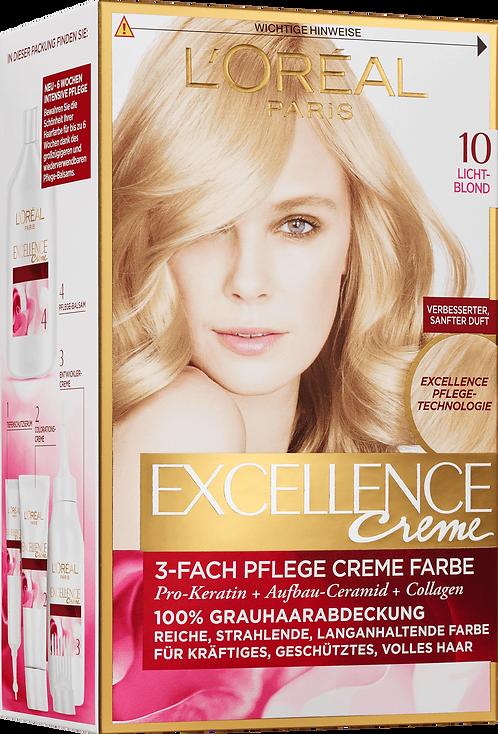 Excellence Coloration Lightblond 10, 1 pc
