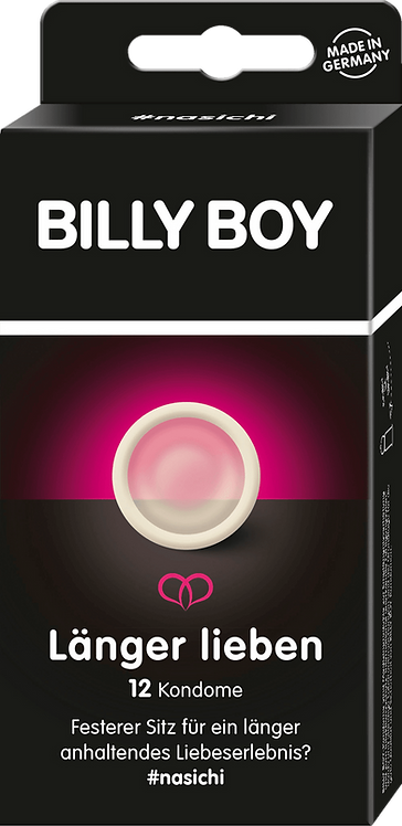 BILLY BOY Longer love condoms, 12 pcs