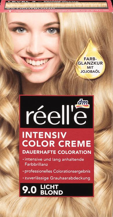 réell'e Light blonde hair color 9.0, 1 pc