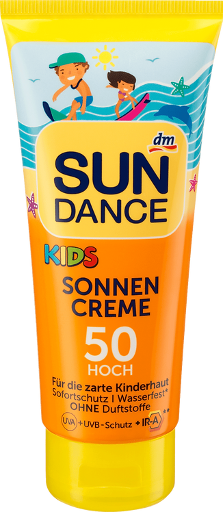 Kids Sunscreen SPF 50 UVA + UVB Protection + IR-A, 100 ml