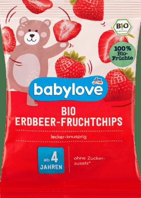 Organic children's Snack organic strawberry fruit chips 12g
