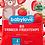 Thumbnail: Organic children's Snack organic strawberry fruit chips 12g