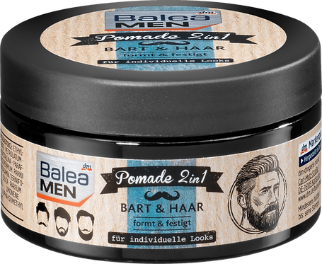 Pomade 2in1 for Beard & Hair, 100 ml