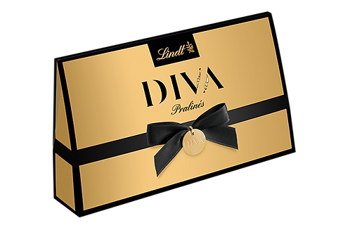 DIVA Premium Chocolate PRALINÉS CLUTCH, 105g