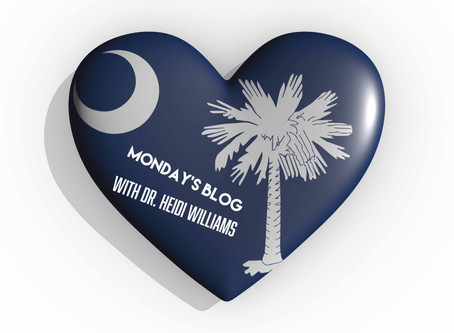 It's National South Carolina Day! - Dr. Williams Latest Thoughts