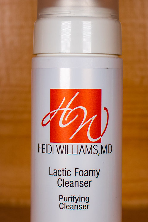 HW Lactic Foamy Cleanser