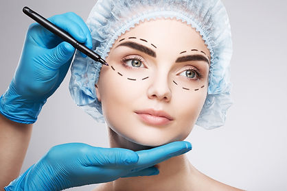Beautiful girl doing plastic surgery-1.j
