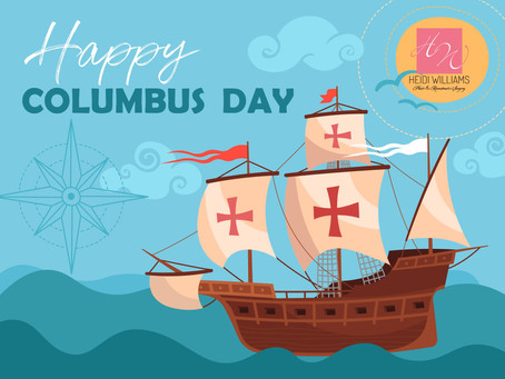 Columbus Day Blog - Flash Sale and More...