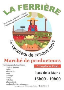 La Ferrière marché 7 mai