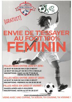Foot 100% féminin