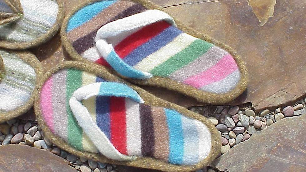 Felted Flip Flops Pattern