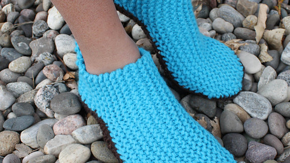 Sideways Slippers with Options