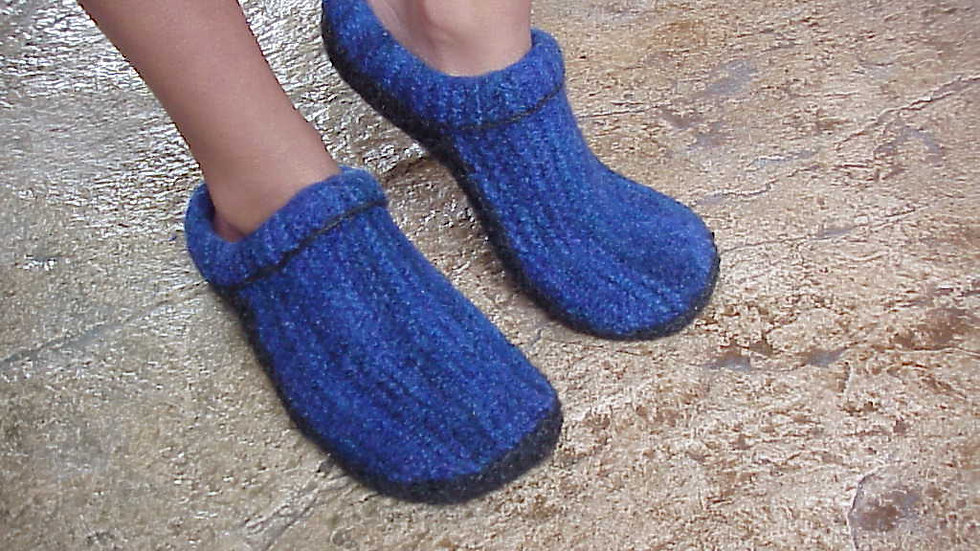Felted Clogs Made Easy