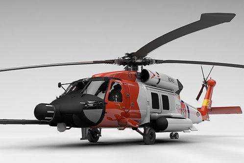 SH-60 USCG V11_3D Model