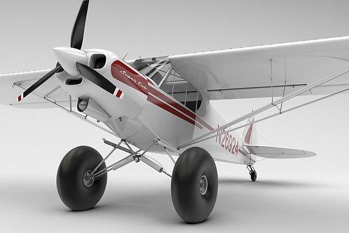 Classic Super Cub_V9 3D Model