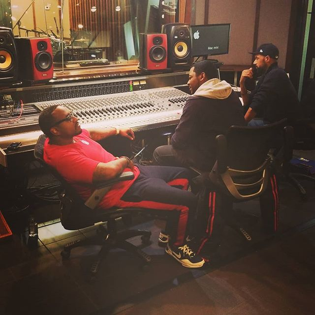 Listening to the playback. Living our dreams