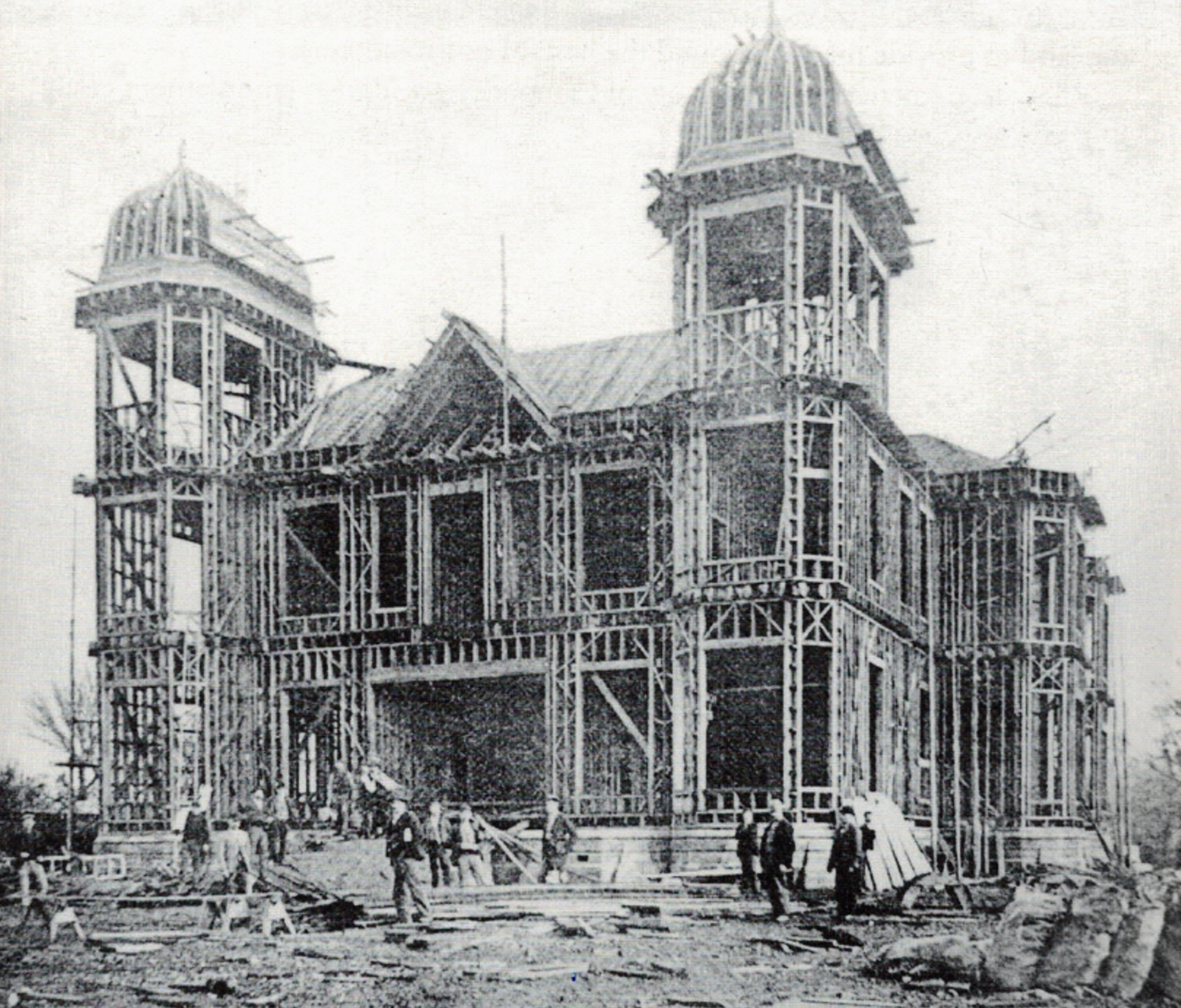 Under construction 1899-1902