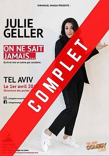 julie geller sold out.jpg