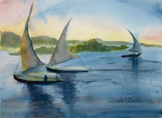 1. Nile Twilight Sail