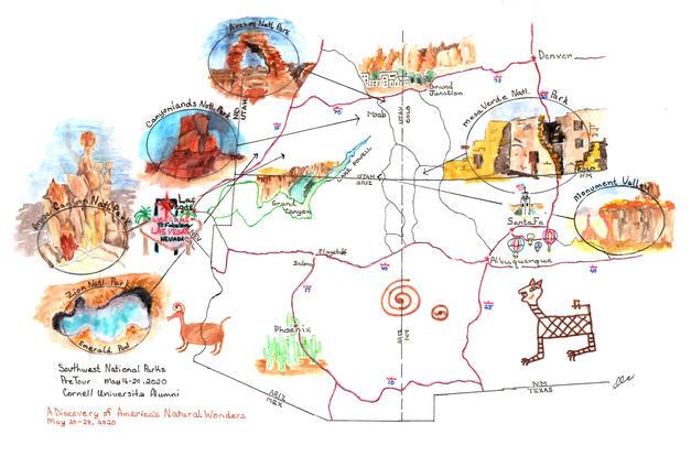 1. Southwest Art Map