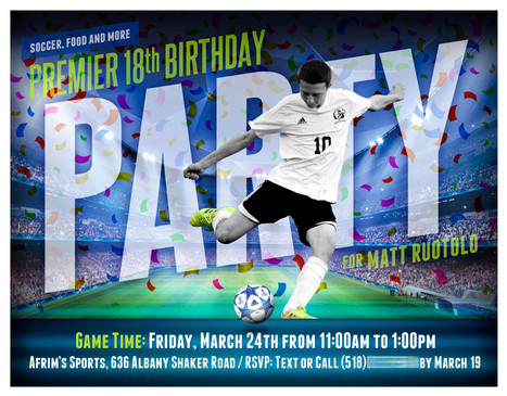 Premier Party Invitation