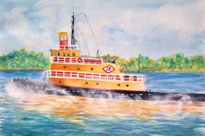 Tugboat on the Hudson