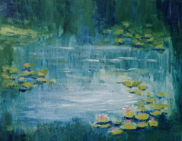 13 Water Lilies