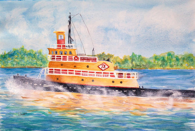 12. Matthew Tibbetts Tug on the Hudson