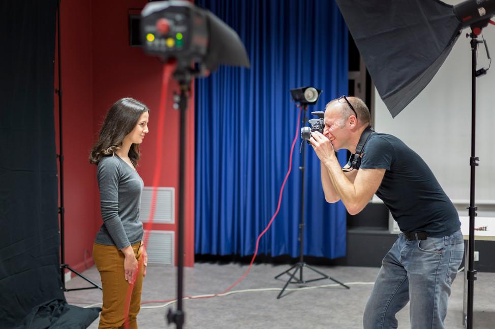 2016-07-07 Shooting Portrait - Making Of
