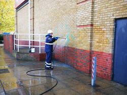 Graffiti Cleaning Jet Wash