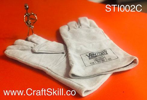 STI002C ถุงมือหนังเชื่อม Ventory แบบยาว 13 นิ้ว มีซับใน อย่างดี