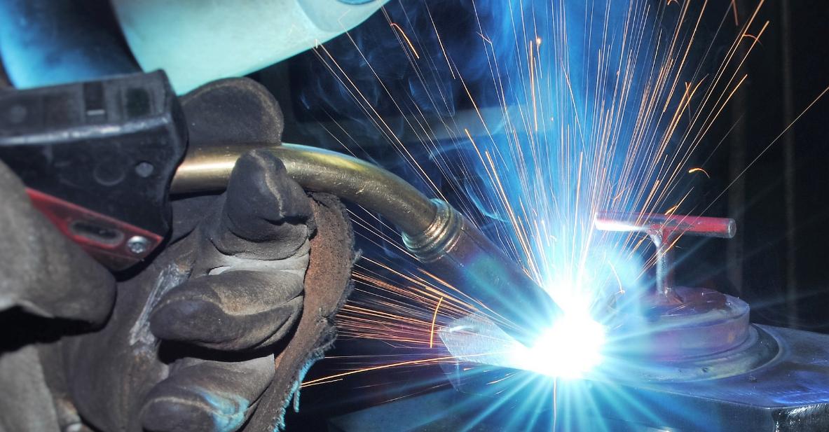 mig welding งานเชื่อมโครงสร้างเหล็ก