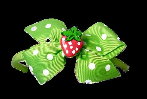 Starwberry Headband-Green