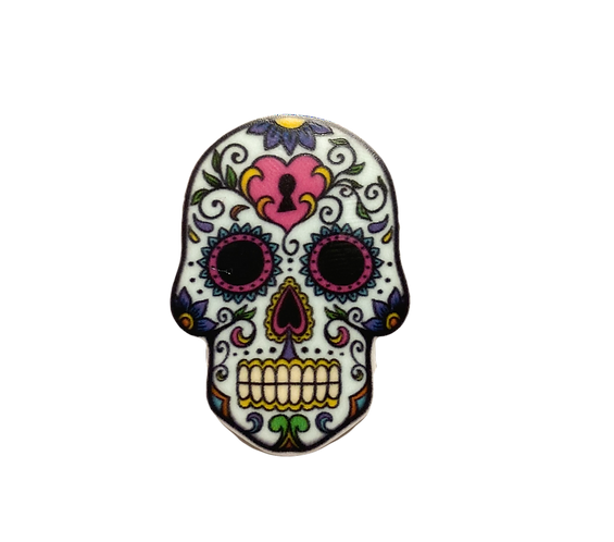 Skull Button Cover