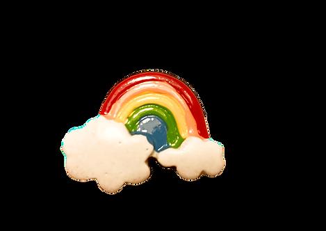 Rainbow Button Cover