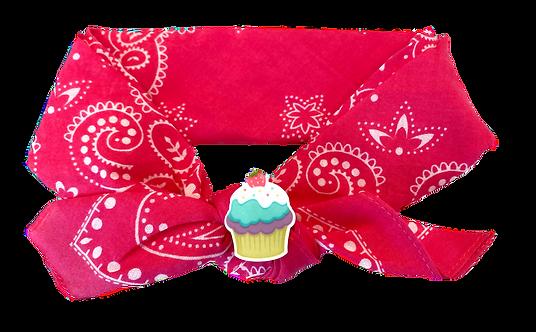 Cupcake Tie Knot Headband