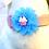 Thumbnail: Interchangeable Cupcake &  Popsicle Flower Set -  for dog collar