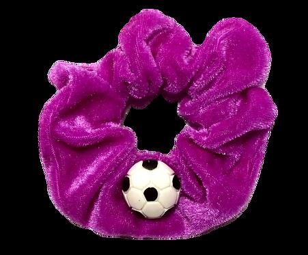 Soccer Ball Scrunchie