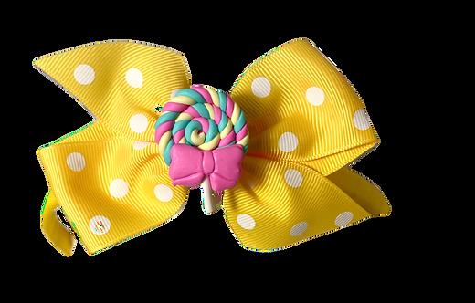 Lolli Pop Headband-Yellow