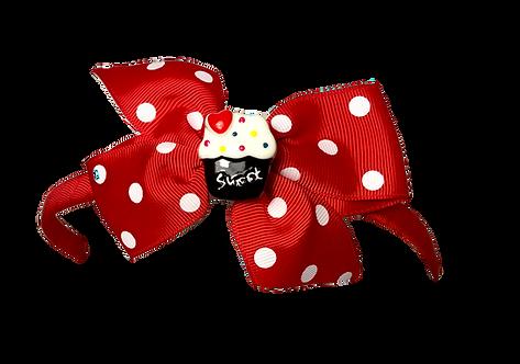 Cupcake Headband-Red