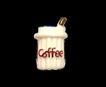 Coffee Button Cover