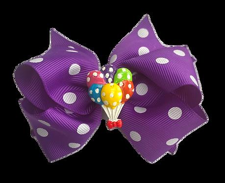 Balloon Bow-Purple