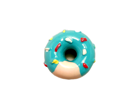Raspberry Donut Button Cover