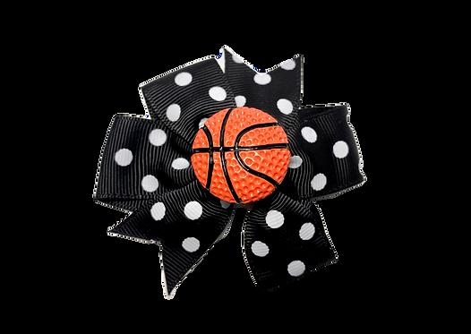 Basketball Bow-Black