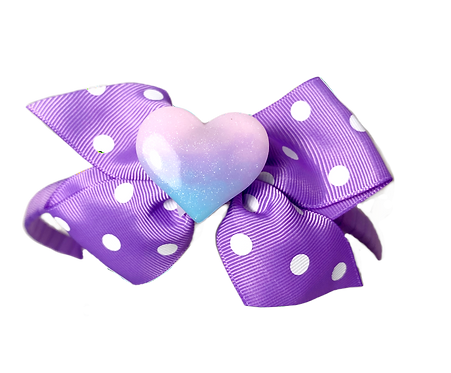 Heart Headband-Purple